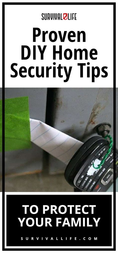 diy home security ideas for preppers survival
