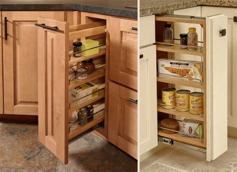 pull out storage for kitchen cabinets pull out cabinet cliqstudios traditional kitchen