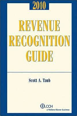 Gift Card Revenue Recognition - revenue recognition guide by ashwinpaul sondhi scott taub cpa paperback barnes