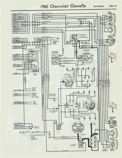 65 wiring diagram chevelle tech