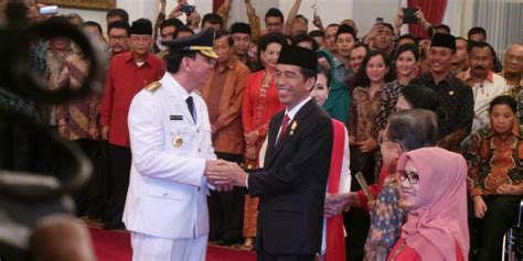 ahok gubernur sumut ahok resmi menjadi gubernur dki jakarta
