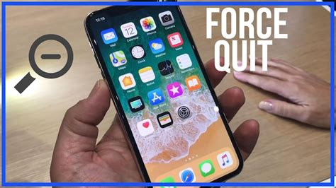 force quit apps  iphone  close apps completely