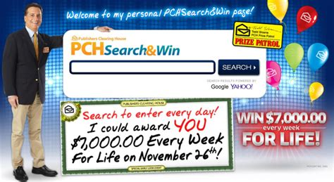 Pch Search Win Homepage - pch search and win bing images