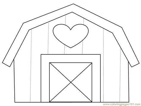 barn coloring pages barn coloring page free royal family coloring pages