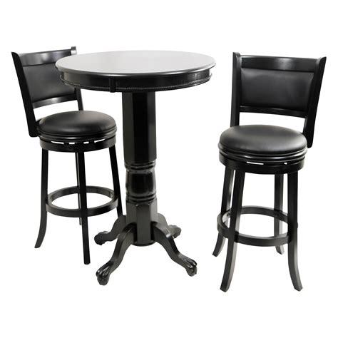 Pub Bistro Table Sets Boraam Augusta 3 Pub Table Set Black Sandthru Pub Tables Bistro Sets At Hayneedle