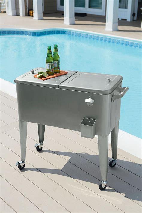 Patio Cooler by Garden Oasis 80qt Wicker Patio Cooler Outdoor Living