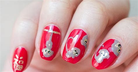 new year monkey nail happy new year monkey nail do want makeup