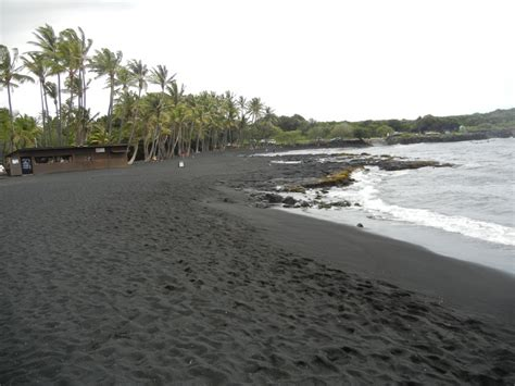 black sand beach the big island hi black sand beach the big island hi