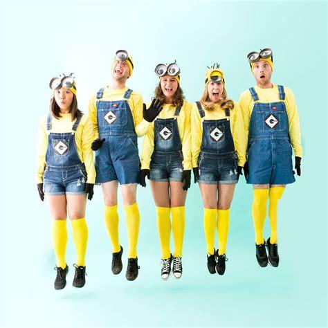 minion costumes   squad  halloween brit