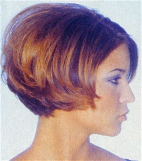chin stack bob hair styles short bob hairstyles front back chin length angled bob