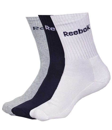 sock boots india reebok multicolor cotton socks set of 3 buy at
