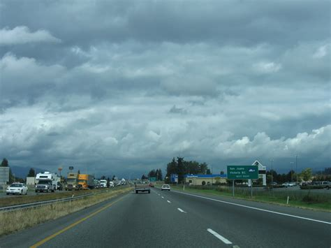 Washington @ AARoads - Interstate 5 North - Skagit County I 5 Exit 71 In Washington State