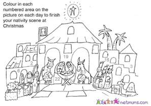 advent coloring pages free coloring pages of countdown advent calendar