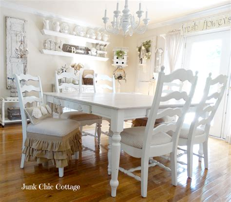 cottage dining rooms charming home tour junk chic cottage town country living
