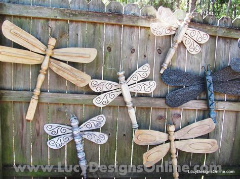 Dragonfly Garden Decor Yard On Pinterest Garden Gardens And Planters