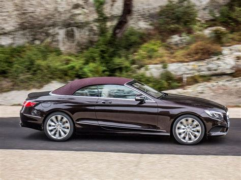 mercedes s class convertible 2017 mercedes s class cabriolet road test and review