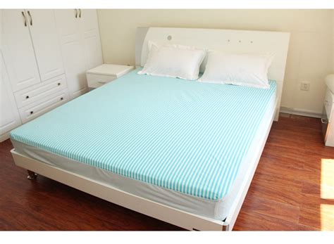 Bed Cover 150cm X200 Cm cotton striped tpu bed protection pad waterproof mattress protector cover 120 200cm 150 200cm