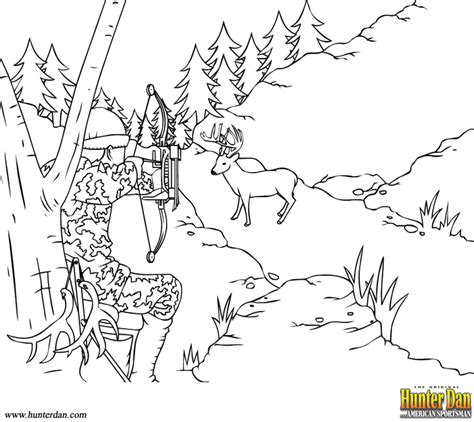 outdoors sketch coloring page