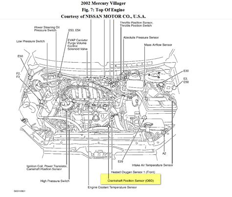 crank position sensor location 2002 mercury get free image about wiring diagram