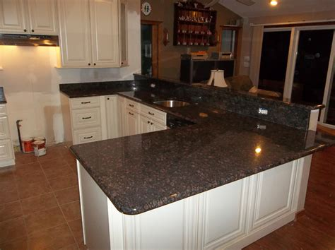 Granite Kitchen Counter by Countertop Installations Bathroom Installations