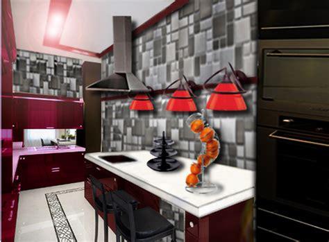 deco mur cuisine moderne cuisine moderne floriane lemari 233