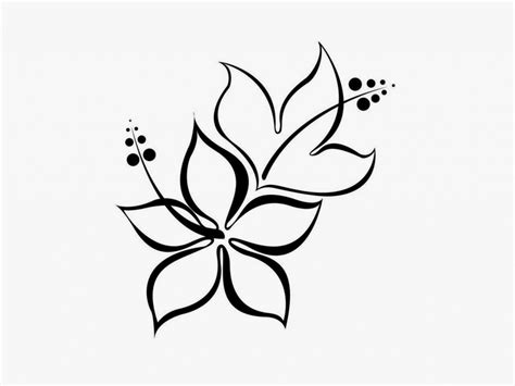 design flower pencil simple flower designs pencil drawing flowers design for