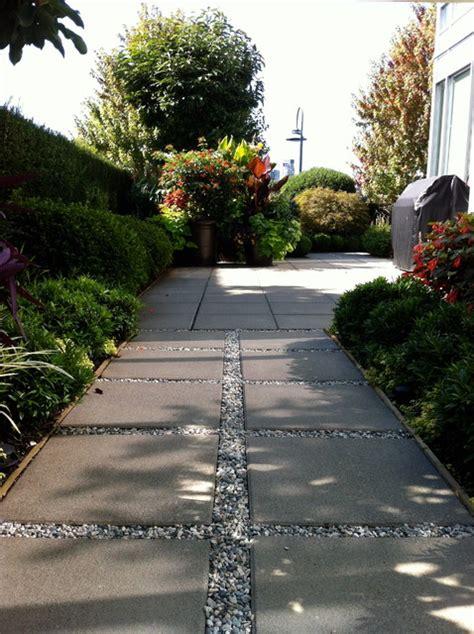 contoh desain jalan di taman desain minimalis