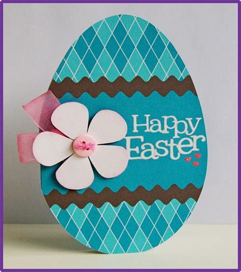 make a easter card how to make easter egg cards