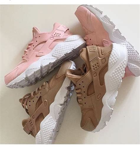 Nike Huarache Original Brande Brown White shoes nike hurraches nike huarache pink beige
