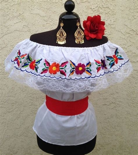 Blouse Bordir 72 17 best images about mexican blouses on s blouses mexican blouse and peasant tops