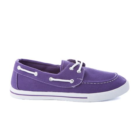s boat shoes loafer moccasin slip on flats canvas