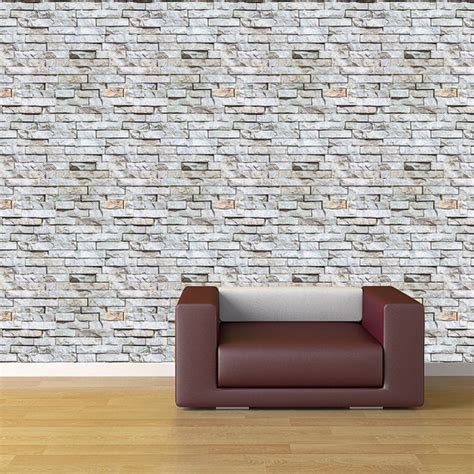 peel and stick wall covering removable peel and stick fabric wallpaper seamless brick
