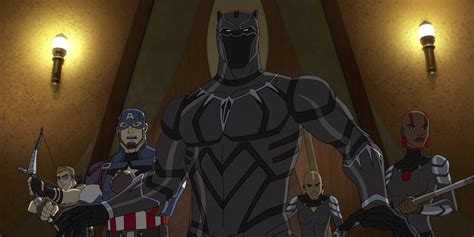 Black Panthers Also Search For Black Panther Takes Next Season Of Animated Series Den Of