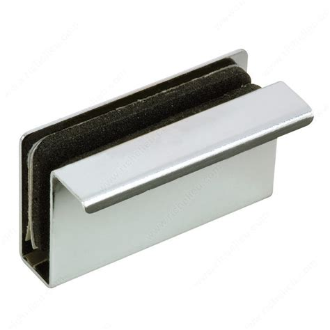 Glass Door Magnetic Latch Plate With Lip For Magnetic Latch On Glass Door Hi Tech Glazing Supplies