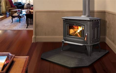 Living Room Stoves by Enviro Boston 1200 Cast Iron Freestanding Wood Stove