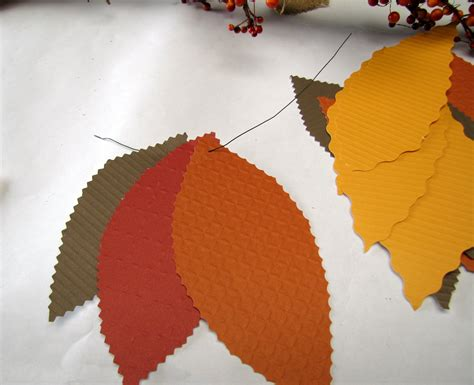 How To Make Paper Garland Decorations - fall home decor how to make a easy fall garland with