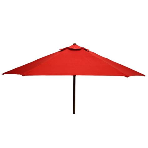 Patio Umbrella Finial 2m Parasol Garden Patio Umbrella Shade Fabric Canopy