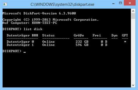 Diskpart Format Windows Installation | uefi format behindert windows installation com professional