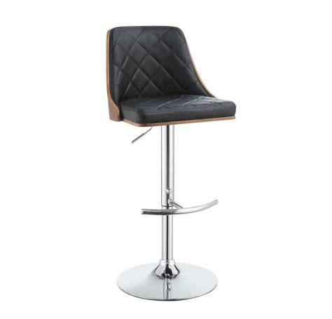 Modern Adjustable Bar Stools by Modern Black Adjustable Bar Stool Co 410 Bar Stools