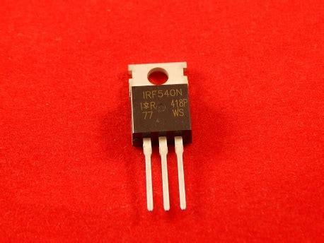 transistor irf 540 irf540 mosfet radiomart kz магазин радиодеталей в казахстане