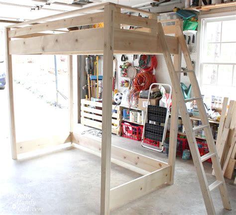 Diy Bedroom Loft by A Blue Loft Bed For My Pretty Handy