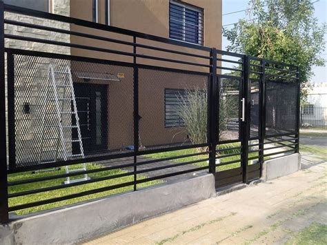 imagenes de verjas minimalistas herrero herreria en gral rejas portones balcones techos