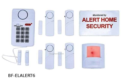 6 home security system china wholesale 6 home