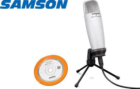 condenser microphone vs usb samson c01ucw studio usb mic with cakewalk sonar le electronics