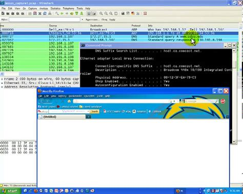 wireshark tutorial dns wireshark packet capture subnet mask arp and dns part 2