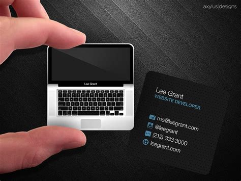 how to make business cards on a mac 30 professional square business cards inspiration