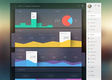 ddo ui layout save 30 vivid dashboard ui designs for your inspiration flats