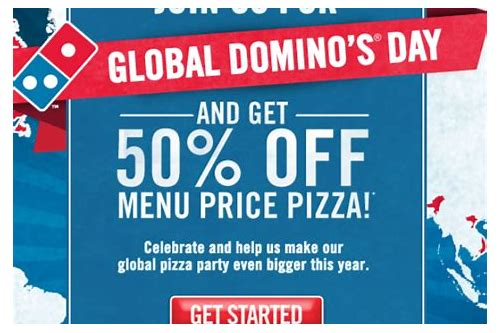 dominos online coupons 20 off