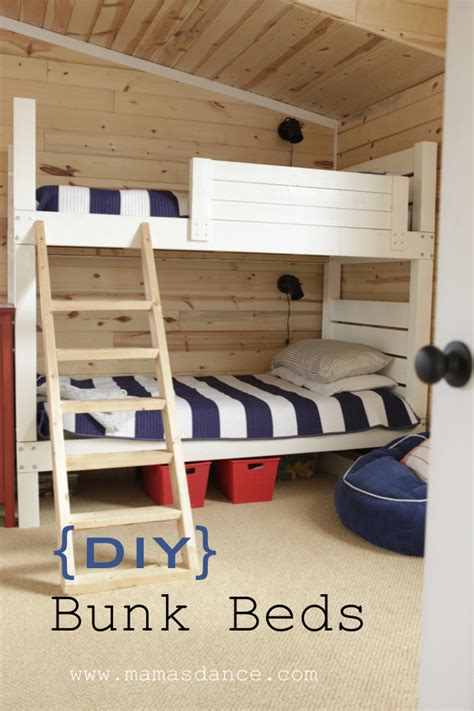 Do It Yourself Bunk Bed Plans Bunk Beds Land Of Nod Inspired Do It Yourself Home Projects From White Bunkbeds