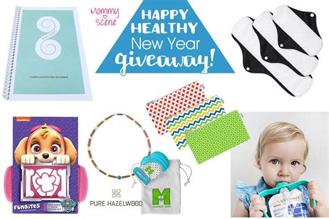 Healthy Giveaways - nanny to mommy happy healthy new year giveaway
